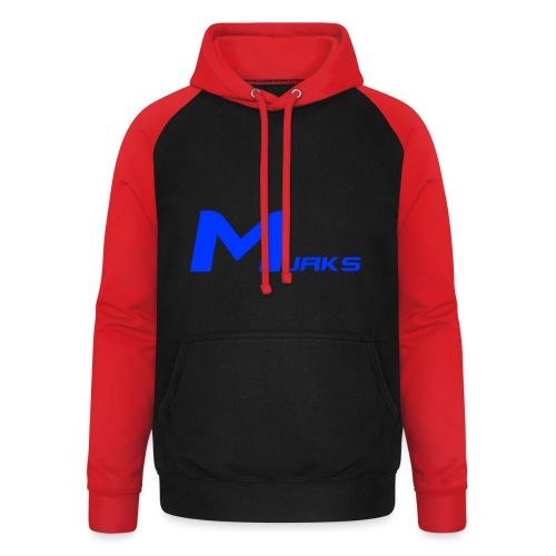 Mjaks 2017 - Unisex baseball hoodie
