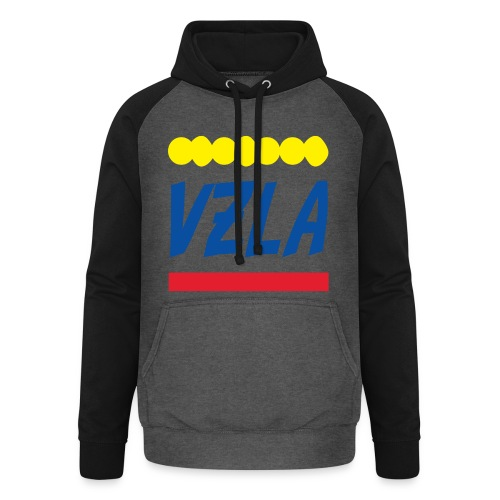 vzla 01 - Sudadera con capucha de béisbol unisex