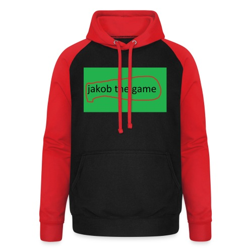 jakob the game - Unisex baseball hoodie