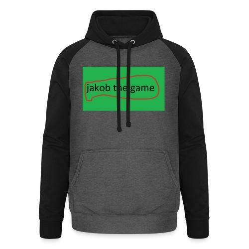jakob the game - Unisex baseball hoodie