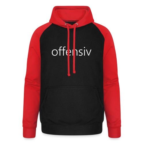 offensiv t-shirt (børn) - Unisex baseball hoodie