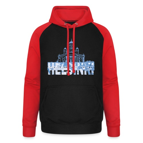 Helsinki Cathedral - Unisex Baseball Hoodie