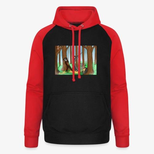 BEERTJEEE - Unisex baseball hoodie