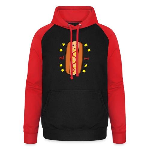 hotdog - Sweat-shirt baseball unisexe