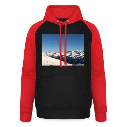 bergen - Unisex baseball hoodie