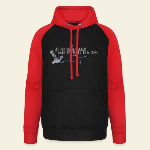 mjlner - Unisex baseball hoodie