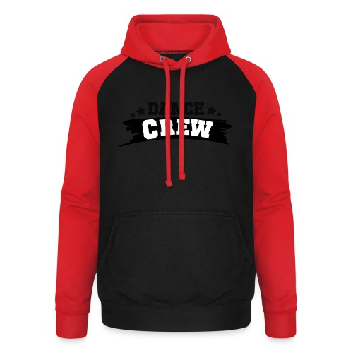 Tshit_Dance_Crew by Lattapon - Unisex baseball hoodie