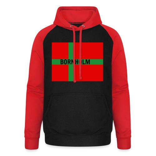 BORNHOLM - Unisex baseball hoodie