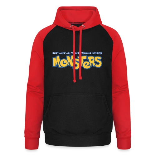 Monsters - Unisex Baseball Hoodie