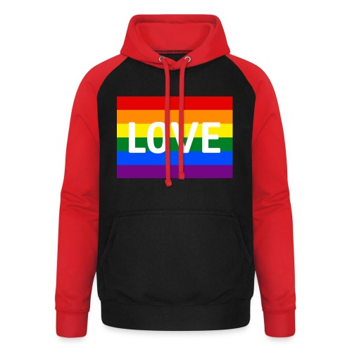 LOVE SHIRT - Unisex baseball hoodie