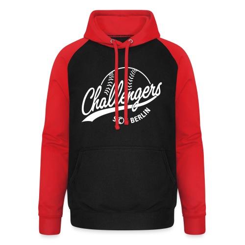 Challengers Logo - Unisex Baseball Hoodie