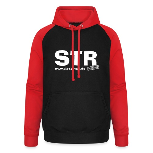 STR - Basics - Unisex Baseball Hoodie