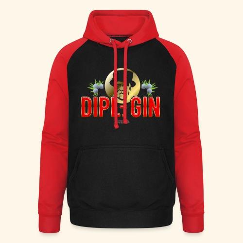 Gin T Shirt Design Dipl.-Gin - Unisex Baseball Hoodie