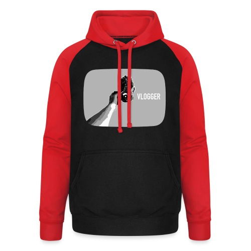 Show your vlogging passion - Unisex Baseball Hoodie