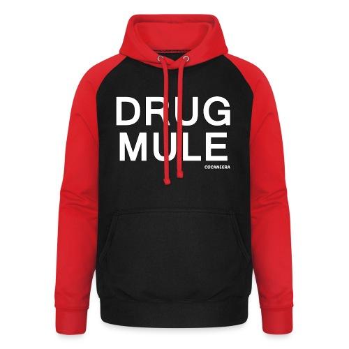 Drug Mule bag - Felpa da baseball con cappuccio unisex