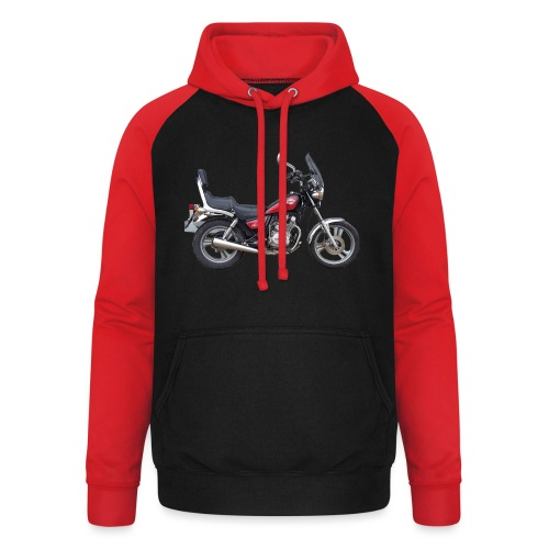 snm daelim vc 125 f advace seite rechts ohne - Unisex Baseball Hoodie