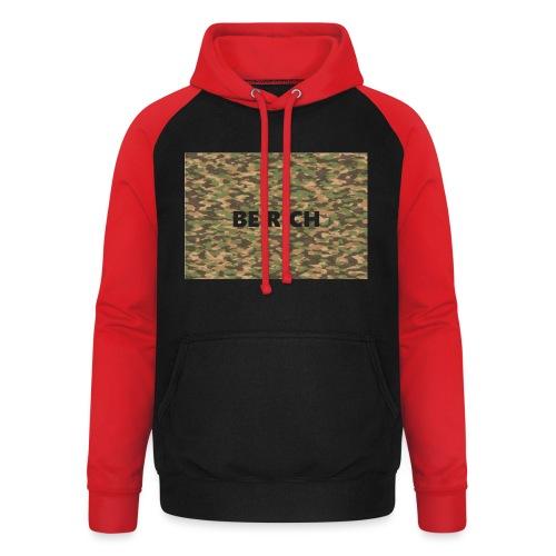 ARMY TINT - Unisex baseball hoodie