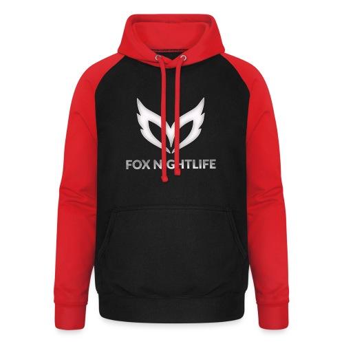 Vrienden van Fox Nightlife - Unisex baseball hoodie