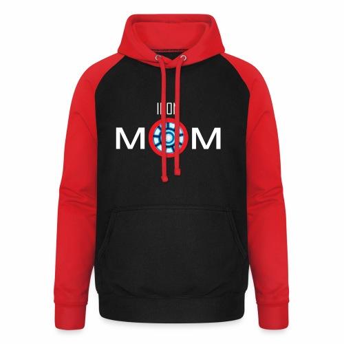 Iron mom - Unisex Baseball Hoodie