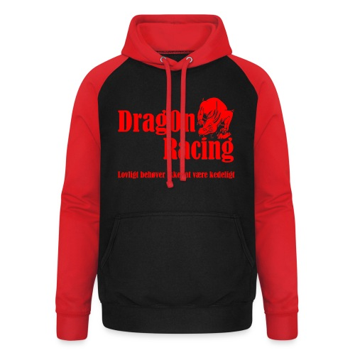 DragOn Racing - Unisex baseball hoodie