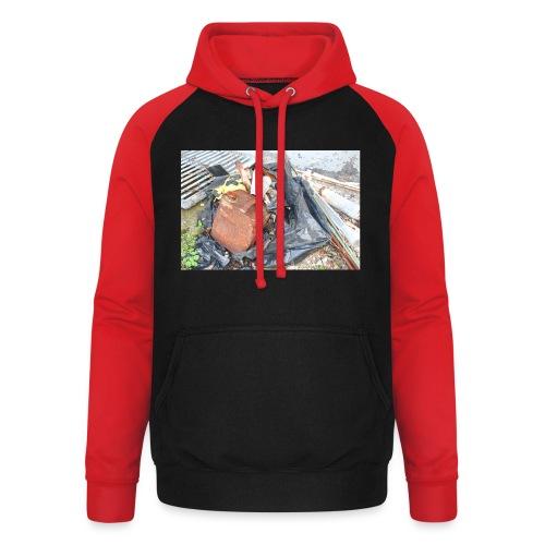 Trash 1 - Unisex baseball hoodie