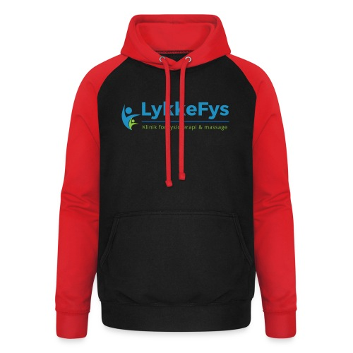 Lykkefys Esbjerg - Unisex baseball hoodie