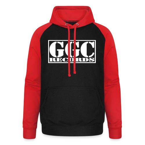 GGC-Records Label-Stempel - Unisex Baseball Hoodie
