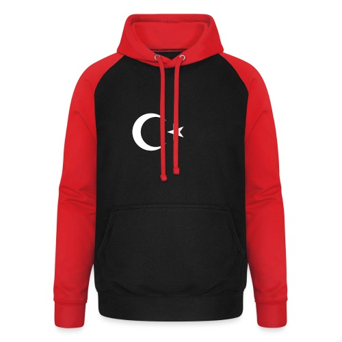 Turquie - Sweat-shirt baseball unisexe