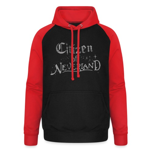 Citizen of Neverland - Unisex Baseball Hoodie