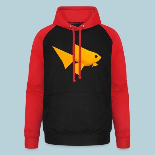 RATWORKS Fish-Smish - Unisex Baseball Hoodie