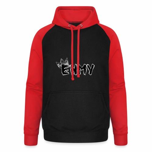 Enmy Grey Sweatshirt - Unisex Baseball Hoodie