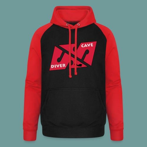 cave_diver_01 - Sweat-shirt baseball unisexe