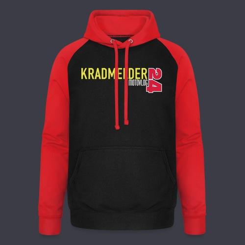 Kradmelder24 Motovlog classic - Unisex Baseball Hoodie