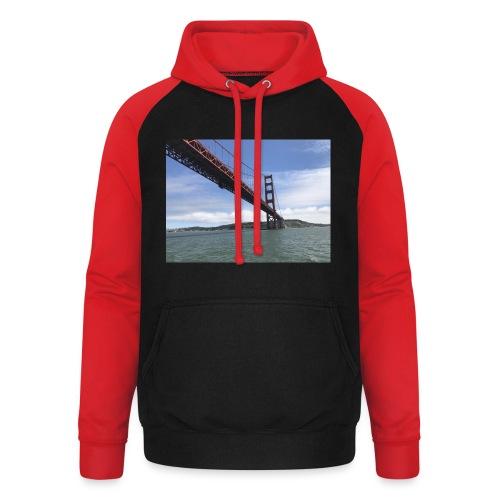 Golden Bro - Unisex baseball hoodie