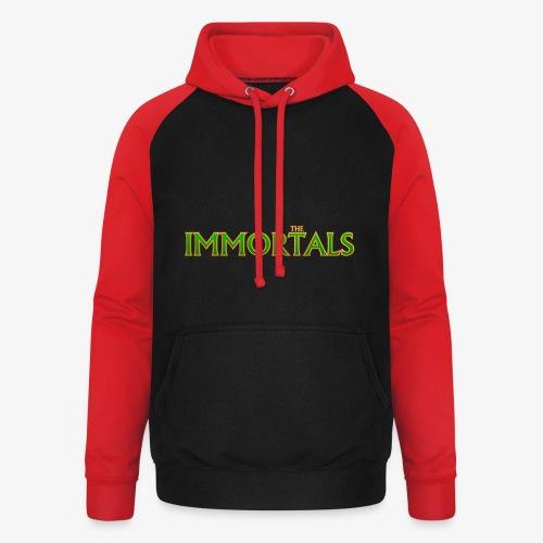 Immortals - Unisex Baseball Hoodie