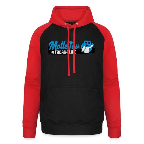 Nyt Logo4 - Unisex baseball hoodie