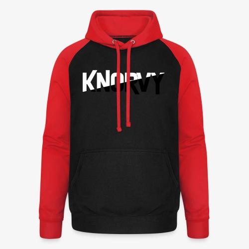 KNORVY - Unisex baseball hoodie