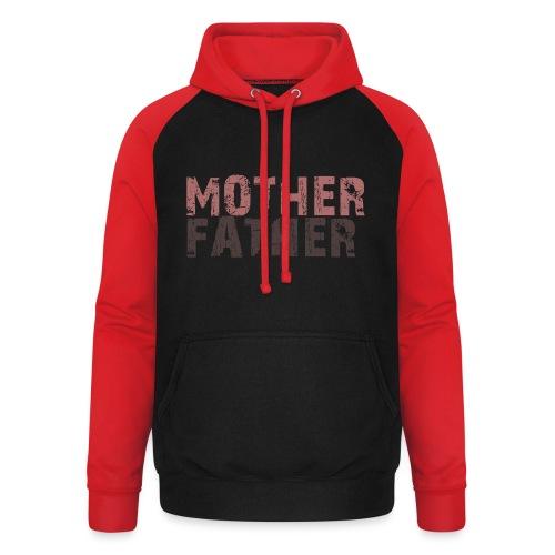 MOTHER FATHER - Unisex Baseball Hoodie