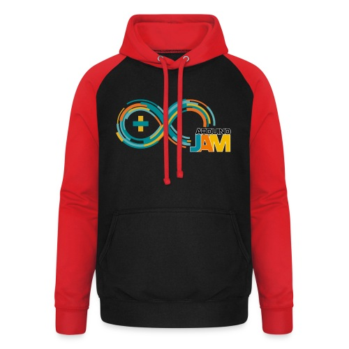 T-shirt Arduino-Jam logo - Unisex Baseball Hoodie
