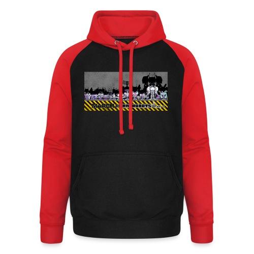 #MarchOfRobots ! LineUp Nr 2 - Unisex baseball hoodie