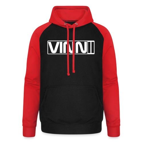 Vinnii Cap - Unisex baseball hoodie
