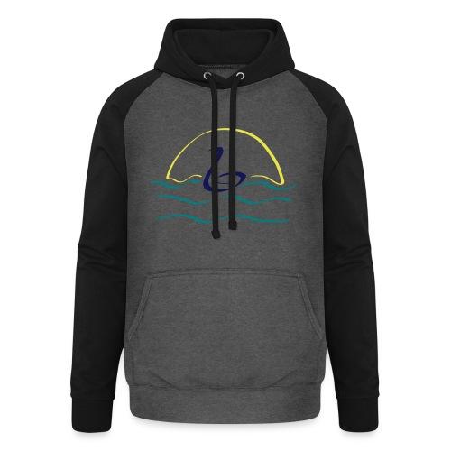 Swan - Unisex baseball hoodie
