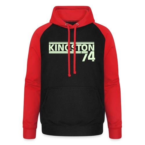 Kingston 74 - Sweat-shirt baseball unisexe