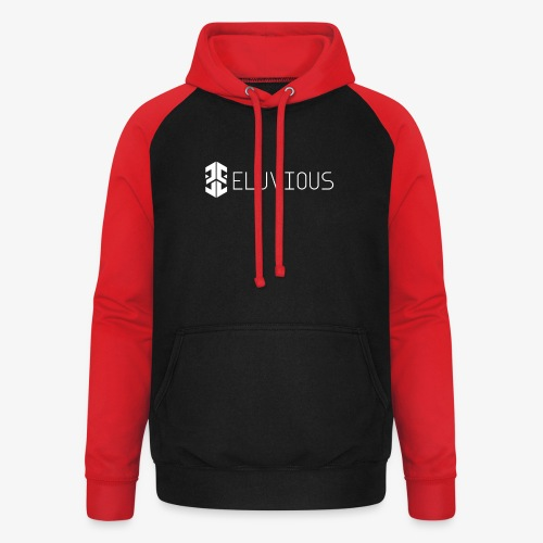 Eluvious   With Text - Unisex Baseball Hoodie