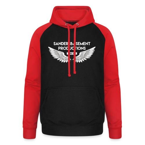 T SHIRT logo wit png png - Unisex baseball hoodie