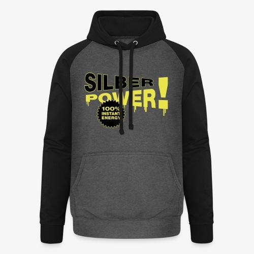 SilberPower! - Unisex baseball hoodie