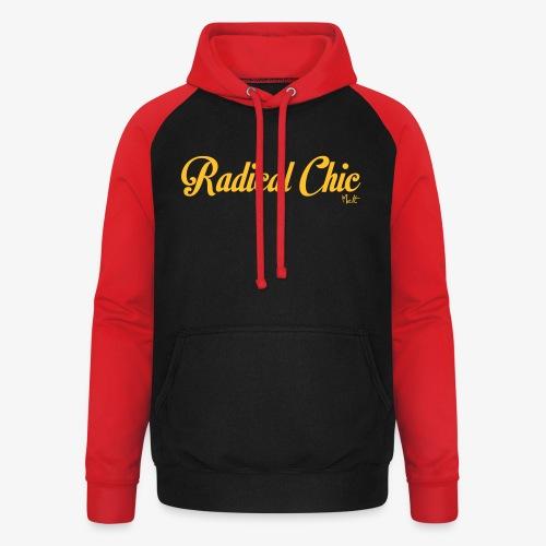 radical chic - Felpa da baseball con cappuccio unisex