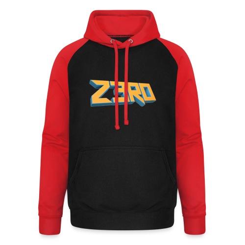 The Z3R0 Shirt - Unisex Baseball Hoodie