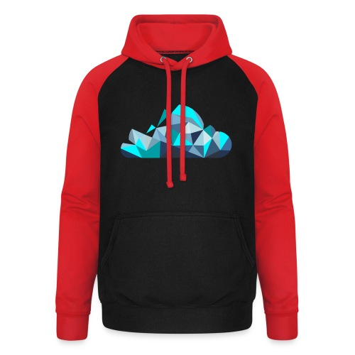 'CLOUD' Mens T-Shirt - Unisex Baseball Hoodie