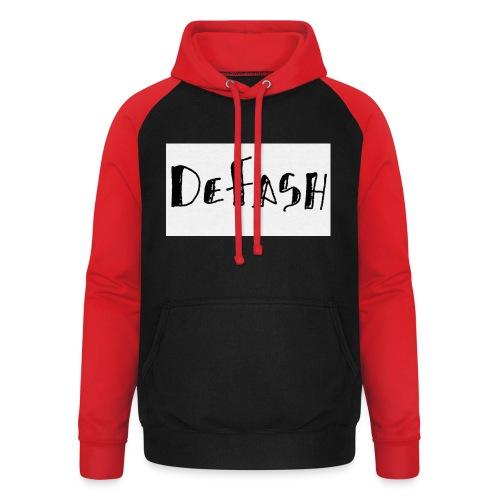 Defash1-png - Sweat-shirt baseball unisexe